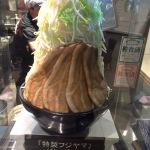 デカ盛り!麺屋心の名物ラーメン「フジヤマ」を食べた感想