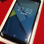 ワイモバイルNexus6を発売当日に速攻フォトレビュー!iPhone6 Plusと大きさはほぼ変わらず!