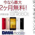 格安1GB660円〜DMMmobileのSIMカードを申し込んでみました!
