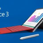Surface3(4G LTE)がワイモバイル公式オンラインストアで発売開始!